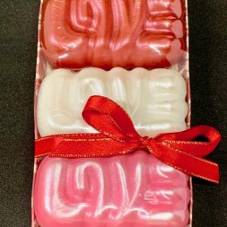 """LOVE"" Soap Pack"