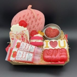 Champagne Strawberry Gift Box