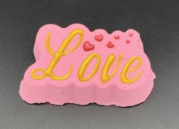 """LOVE"" Bath Bomb"