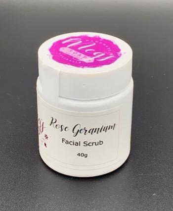 Rose Geranium Facial Scrub
