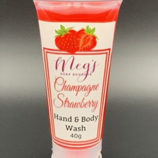 Champagne Strawberry Body Wash