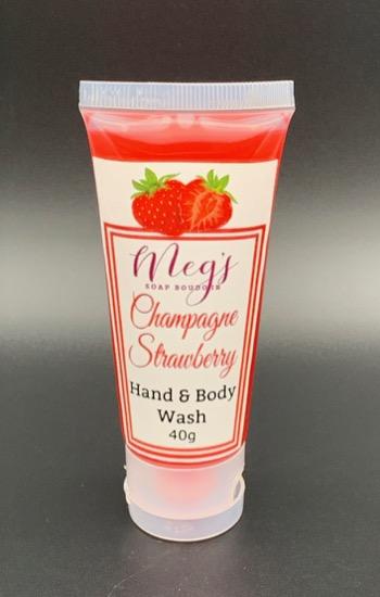 Champagne Strawberry Body Wash