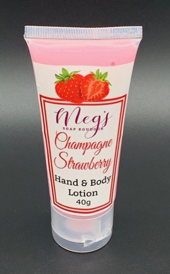 Champagne Strawberry Hand Lotion
