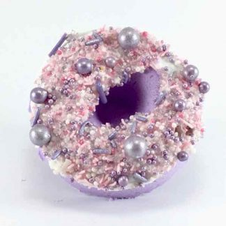 Blackberry Donut Bath Bomb