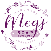 Megs Soap Boudoir Logo