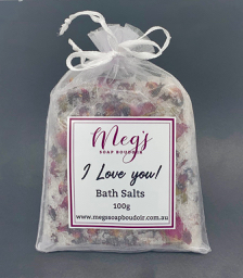 I Love You Bath Salts