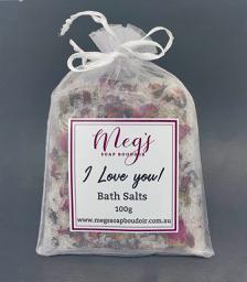 I Love You Bath Salts