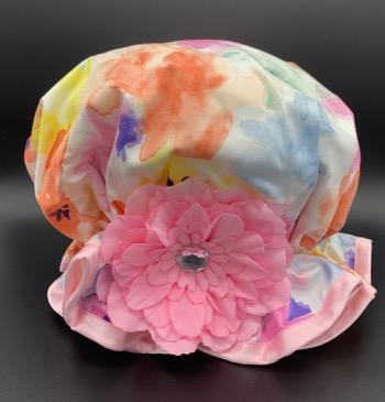 Summer Floral Shower Hat