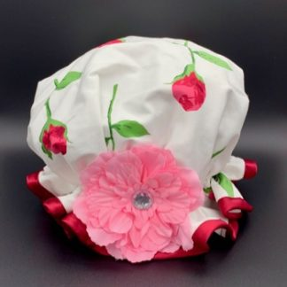 Rose Bud Shower Hat
