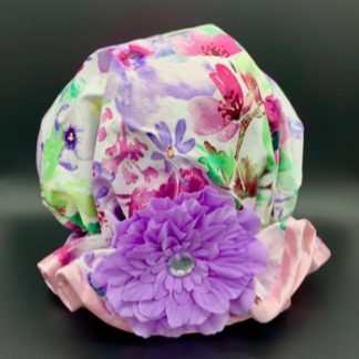Spring Floral Shower Hat