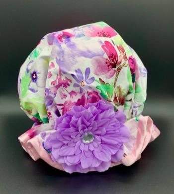 Spring Floral Shower Hat