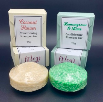 Coconut Flower Shampoo Bar
