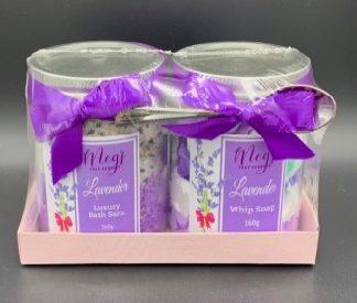 Lavender Salt & Whip Twin Pk