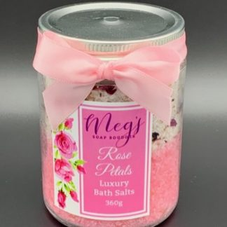 Rose Petals Bath Salts
