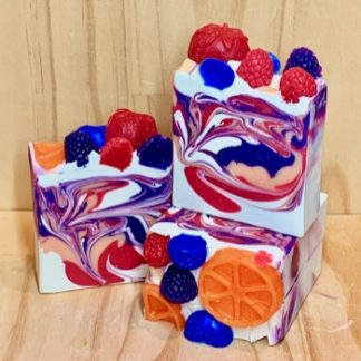 Berry Tangerine Loaf Soap