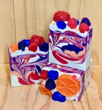 Berry Tangerine Loaf Soap