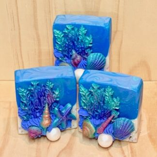 Octopus's Garden Soap Slice