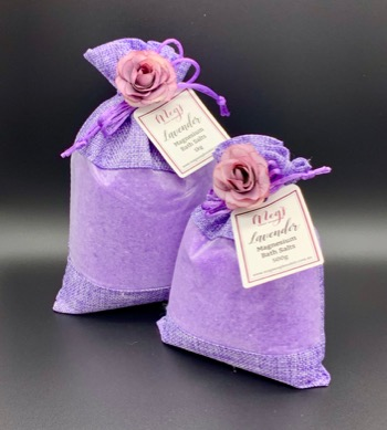 Lavender Magnesium Bath Salts
