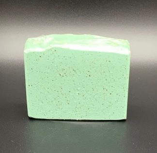 Peppermint Coffee Soap