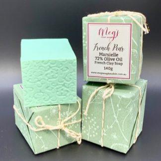 Handmade French Pear Marseille Soap