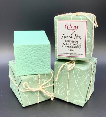 Handmade French Pear Marseille Soap