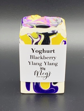 Blackberry Ylang Ylang Yoghurt Soap