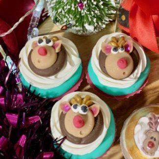 Rudolph Soap Cupcake