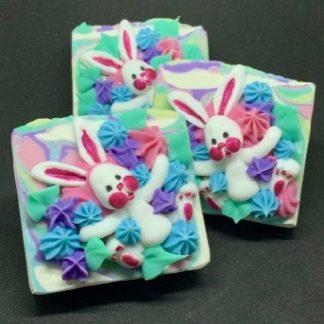 Bunny Soap Slice