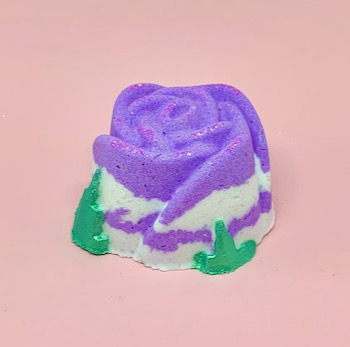 Lavender Rose Bath Bomb2