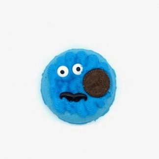 Cookie Monster donut bath bomb