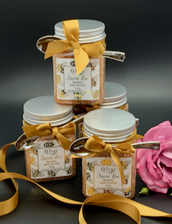 Queen Bee Honey Scrub