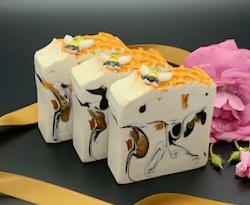 Queen Bee Soap Slice