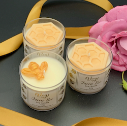Queen Bee Spa Candles